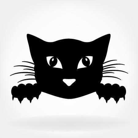 Illustration pour Cat illustration - image libre de droit