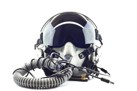 Flight helmet with oxygen mask