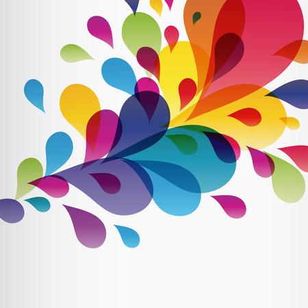 Eps10 Colorful splash