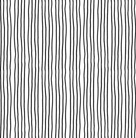 Illustration pour striped seamless pattern. Monochrome vertical ink rough lines texture. - image libre de droit