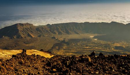 Teide Mountain National Park, Tenerife, Canary Islands, Spain