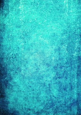 Abstract textured background dark patterns on blue backdrop. For art texture grunge design