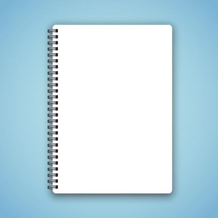 Illustration pour Notebook - image libre de droit