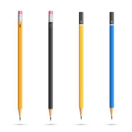 Illustration pour Pencils set - image libre de droit