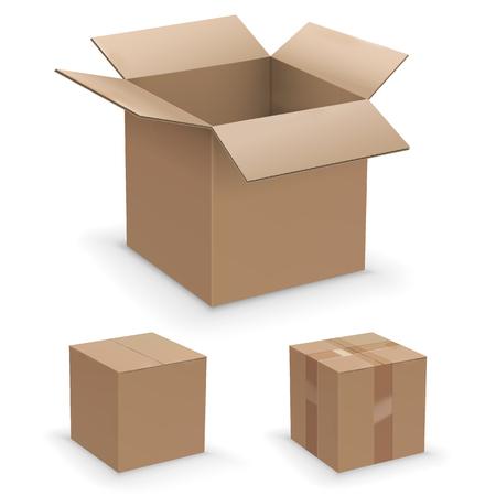 Illustration pour Vector box set - image libre de droit