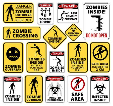 Illustration pour Zombie - image libre de droit