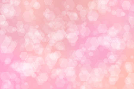 Vintage and pastel colorful background with defocused light pink spots