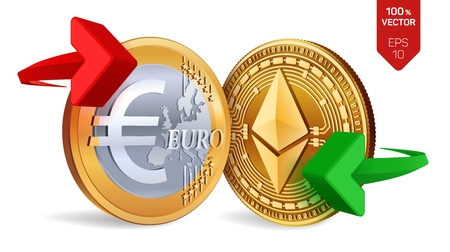 Ethereum to Euro currency exchange  Ethereum  Euro coin