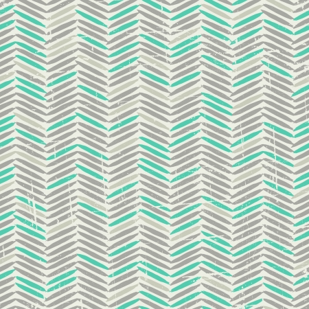 Grey and Green Chevron Pattern