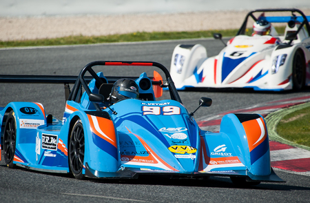 AGR Bleu Mercure Racing Team at V de V Endurance Series that celebrates at Circuit de Barcelona Catalunya on March 17-19 of 2017 in Barcelona, Spain.