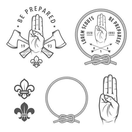 Scout symbols and design elements
