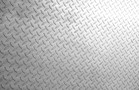A background of old metal diamond plate