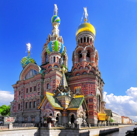 Church of the Saviour on Spilled Blood, St  Petersburg, Russia