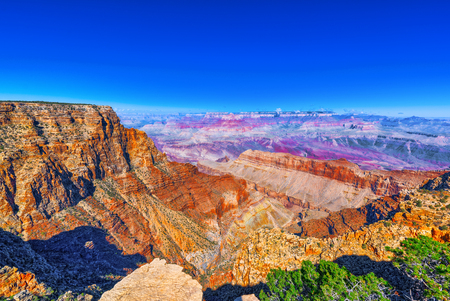 Foto per Amazing natural geological formation - Grand Canyon in Arizona, Southern Rim. USA. - Immagine Royalty Free