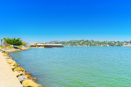Photo pour Sausalito is a city in Marin County, California, 4 miles north of San Francisco. - image libre de droit