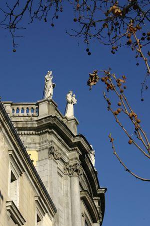 Statue in Madrid - Spain