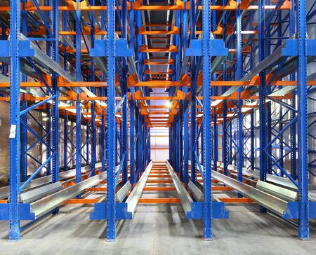 Photo for large modern warehouse complex - Royalty Free Image