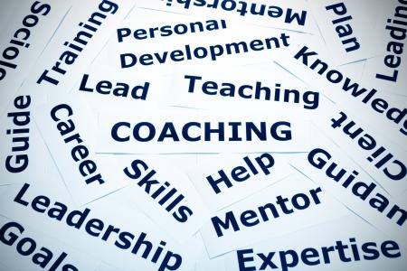 Coaching concept vignette