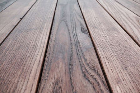 Photo for Natural wood structure of thermal ash, several boards vertically, texture background wallpaper arranged - Royalty Free Image