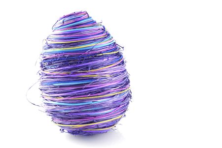 abstract violet easter egg