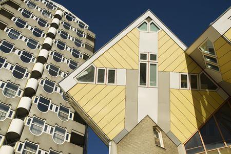experimental house as a cube