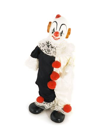 funny comical smiling clown