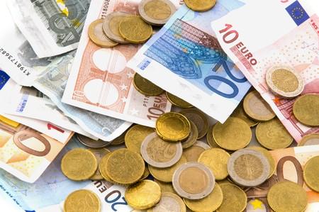 Many money euros