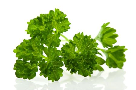 Fresh green parsley herbs for the kitchen