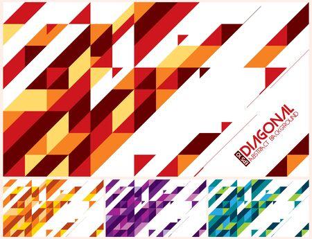 Photo pour Modern diagonal abstract background vector. Suitable for your design element and background - image libre de droit