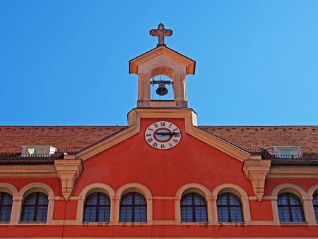Rooftop of Priests  Seminary, Graz, Austria