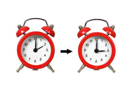 Photo pour Daylight Saving Time, Summer Time change, Change your clocks - image libre de droit