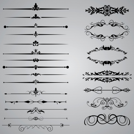 Set of twenty two Dividers for your designs
