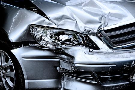 Photo pour Car crash - image libre de droit