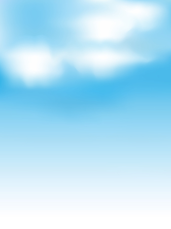 Sky clouds landscape background