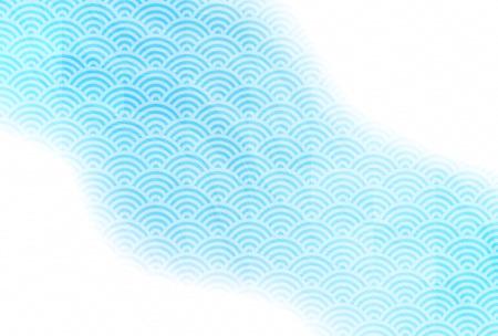 Foto für Swirl summer greeting card summer background - Lizenzfreies Bild