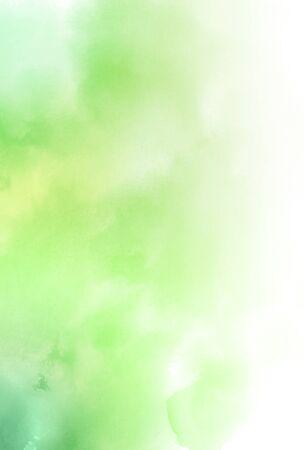Ilustración de Watercolor fresh green Japanese paper background - Imagen libre de derechos
