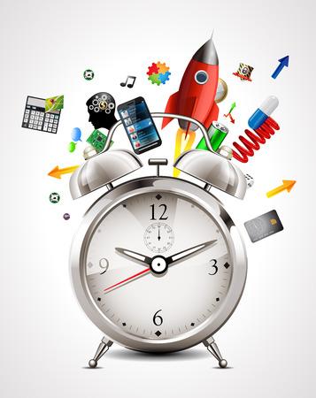Alarm clock - time management