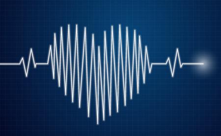 Heartbeat Sensor - heart line on moinitor