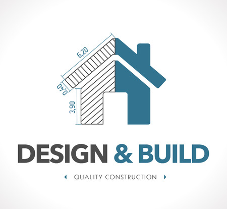 Photo for Logo - Design and build - Royalty Free Image