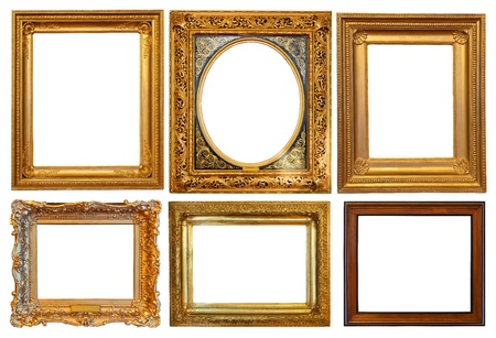 Set of few  picture frames
