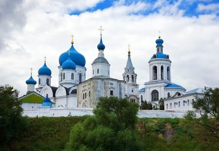 orthodoxy monastery in Bogolyubovo in summer day (Russia)
