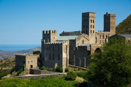 Monumental complex of Benedictine Monastery Sant Pere de Rodes, Spain