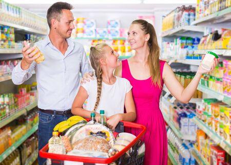 Foto für Customers are selecting goods in shop. - Lizenzfreies Bild