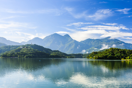 Photo for Scenery of Sun Moon Lake in Taiwan, Asia. - Royalty Free Image