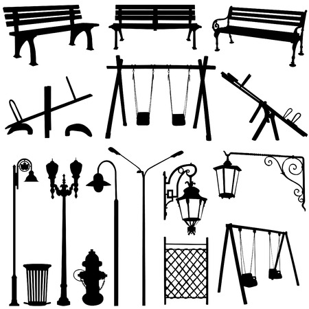 park outdoor object