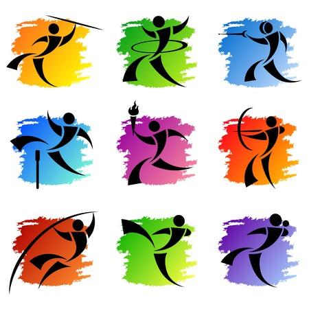 Foto de sport icons - Imagen libre de derechos