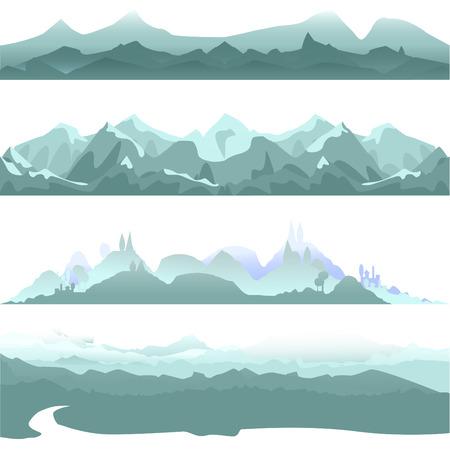 Illustration pour mountain vector  - image libre de droit