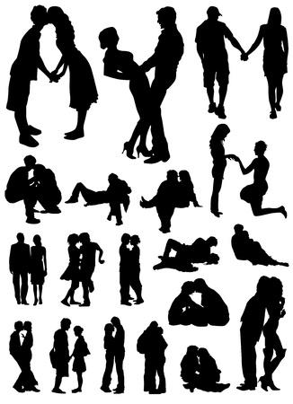 lovers vector