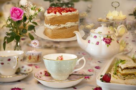 Foto de An Elegant High Tea - Imagen libre de derechos