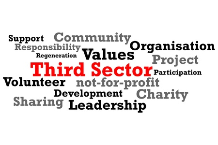 Third Sector Charity Word Map